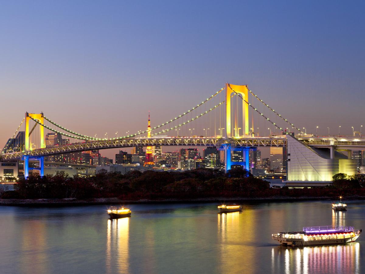 """SKY BUS TOKYO """"Tour Nocturno de Odaiba""""_1"""