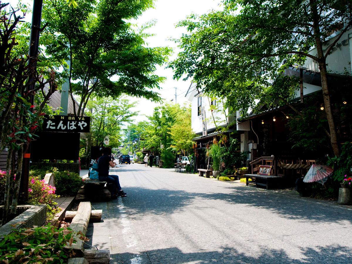 Santuario Sintoísta de Aso・Calle Comercial de Aso Monzen_2