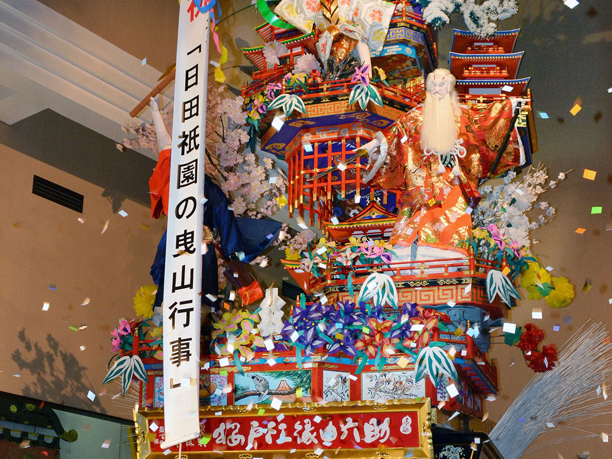Hita Gion Yamaboko (Festival float) Hall_4