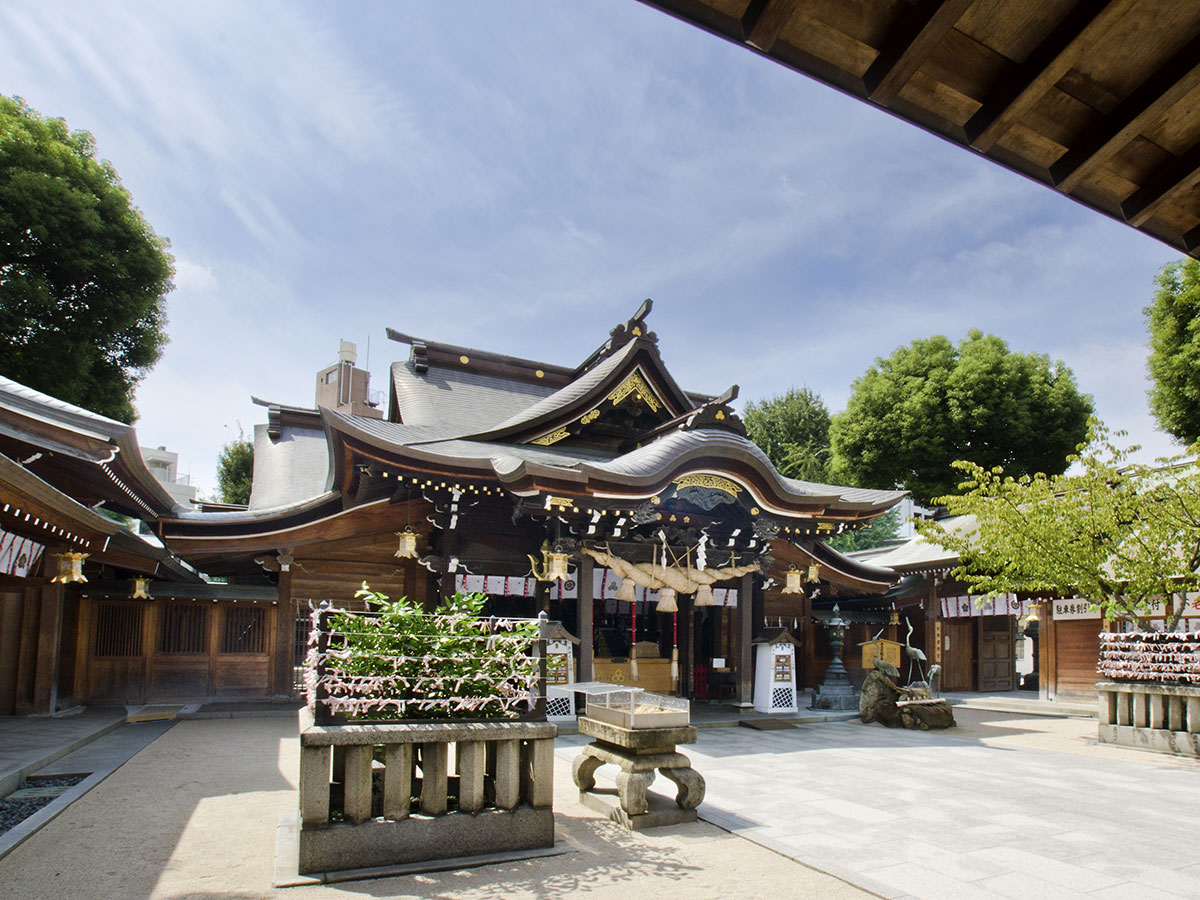 Kushida Shrine_1