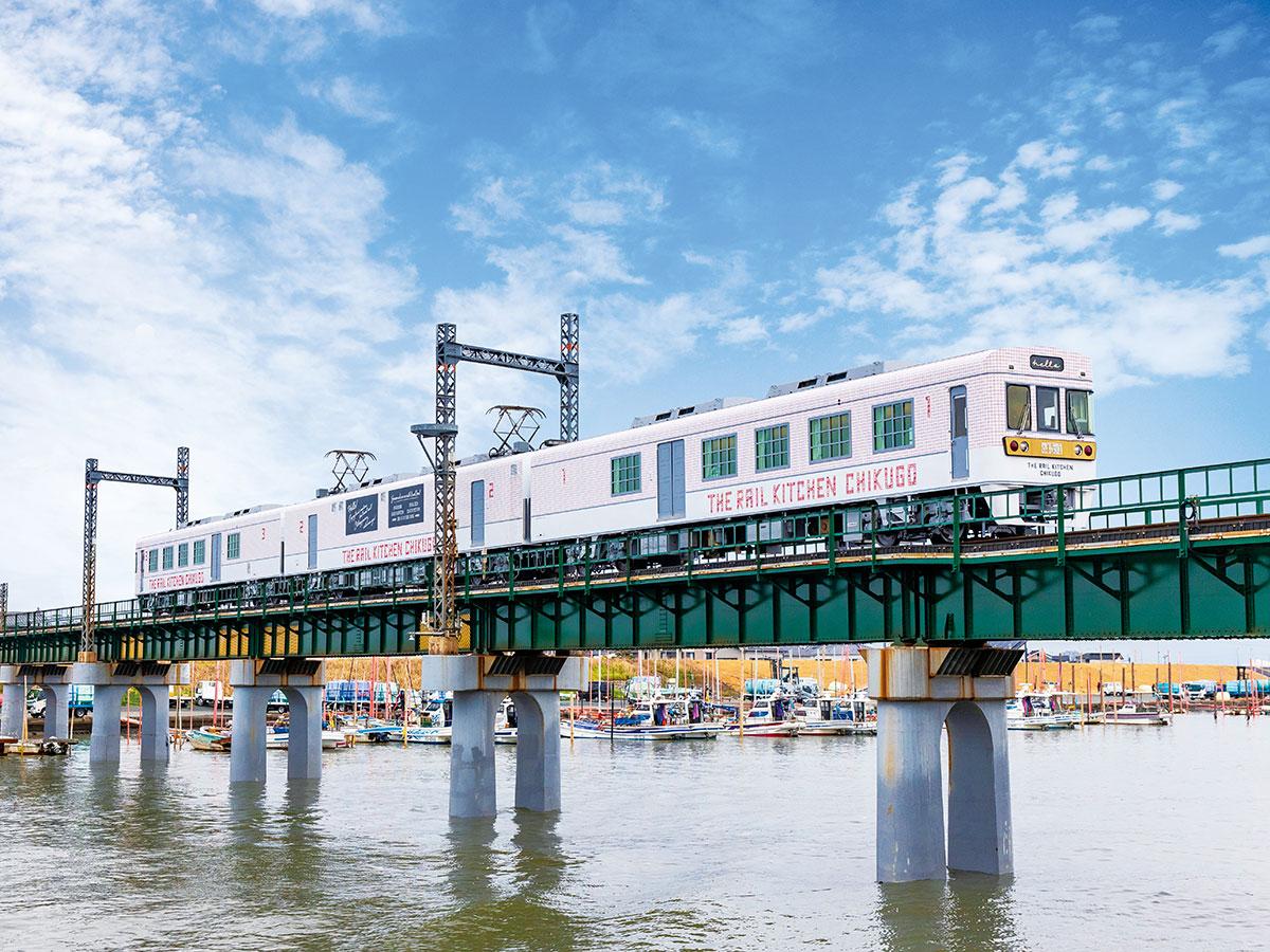 """Tren Restaurante """"THE RAIL KITCHEN CHIKUGO""""_1"""