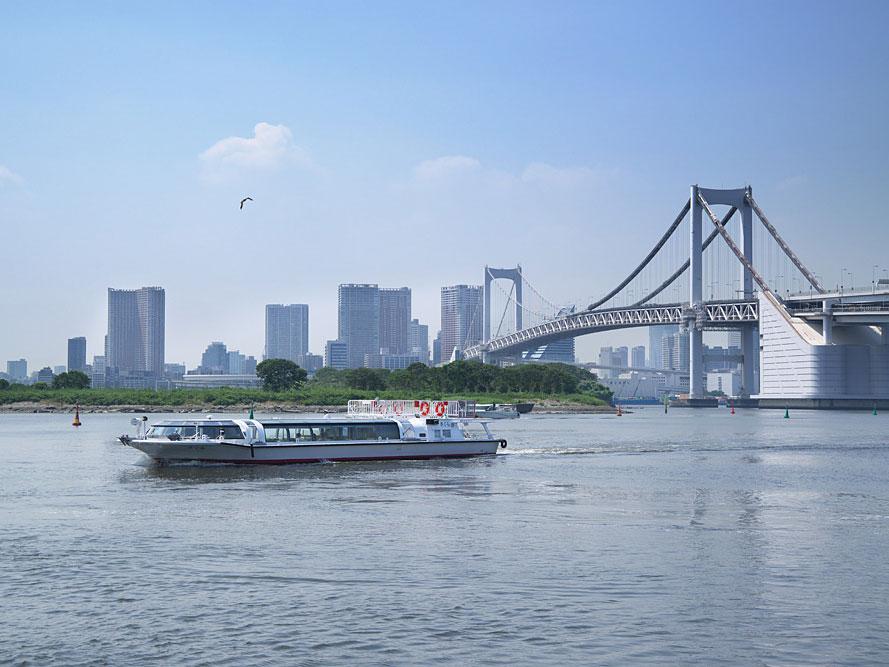 Water bus (Asakusa-Odaiba line)_1