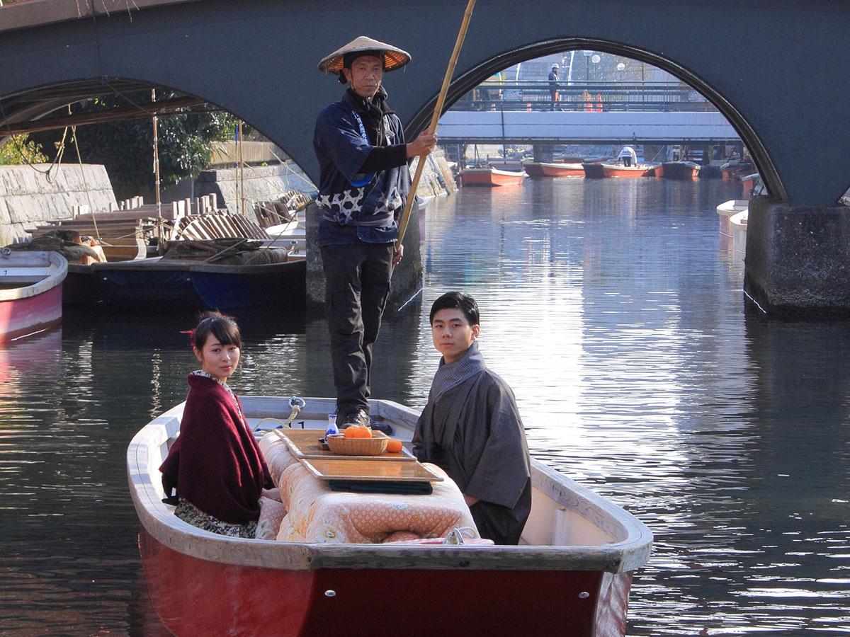 Yanagawa river cruise_3