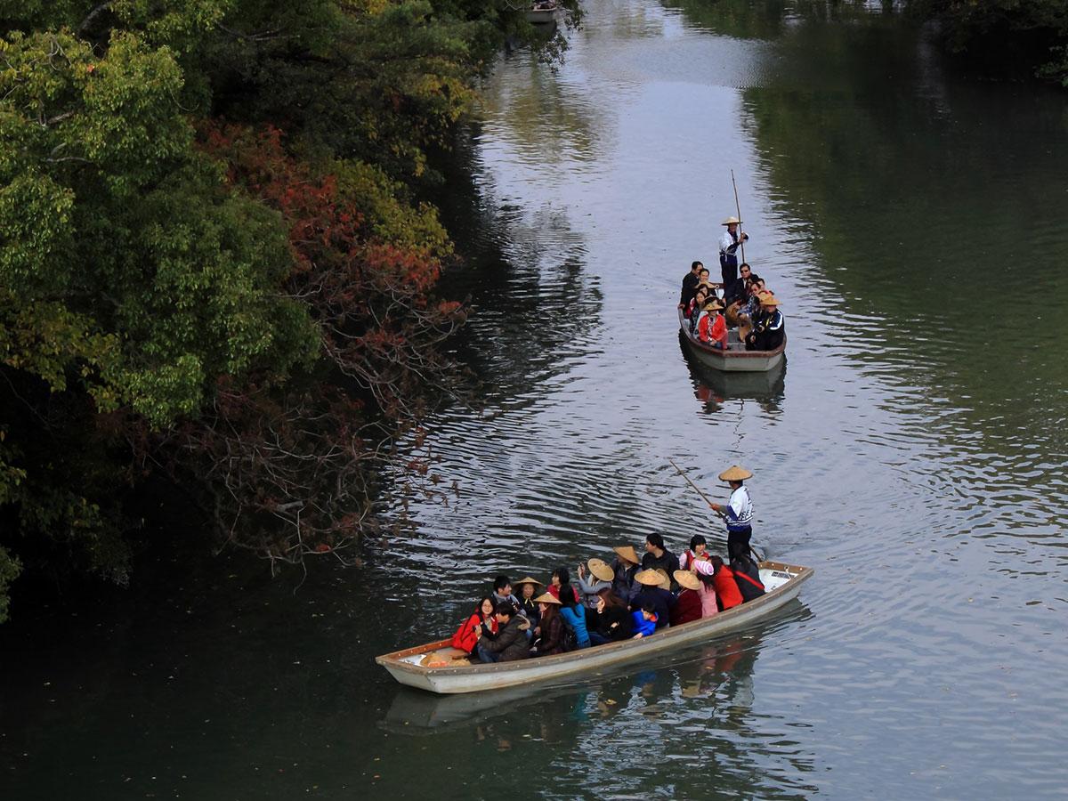 Yanagawa river cruise_4