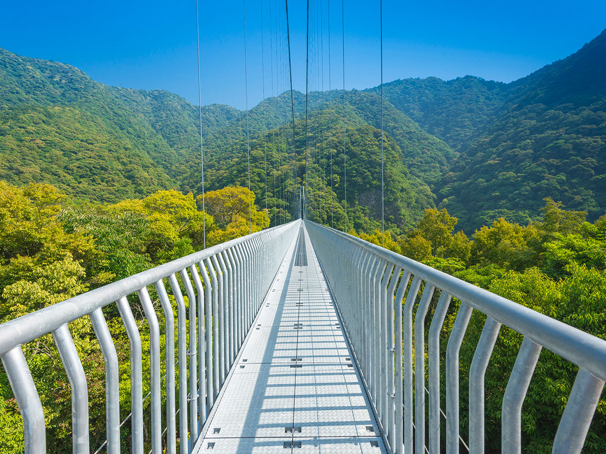 Aya Teruha Suspension Bridge