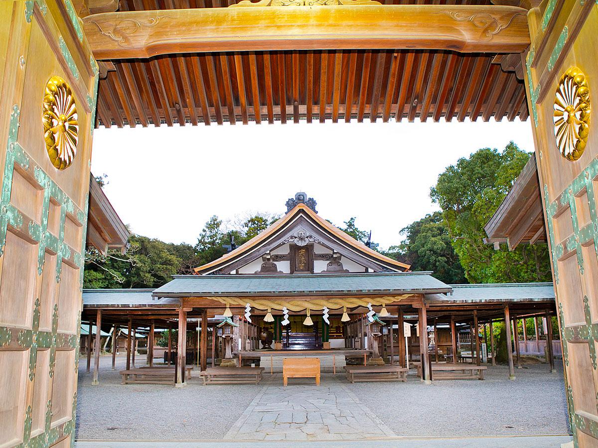 Munakata-Taisha-Schrein