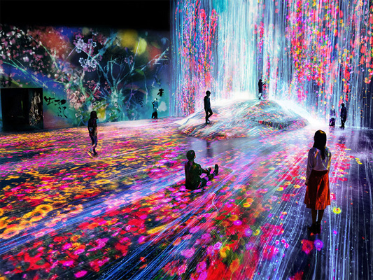 teamLab Borderless Odaiba
