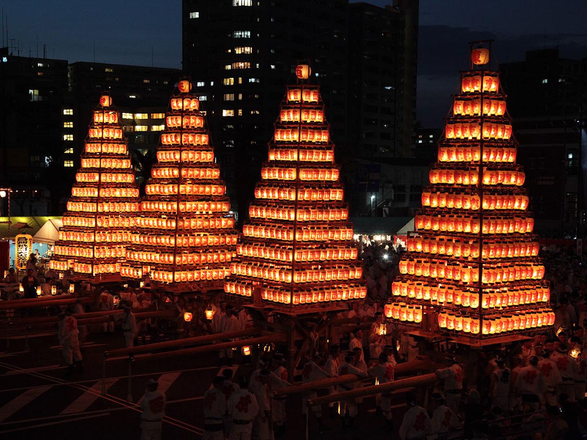 Festival di Tobata Gion, Oyamagasa
