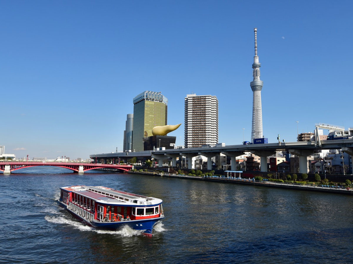 เรือเมล์<br>(สายท่องเที่ยวโตเกียว)