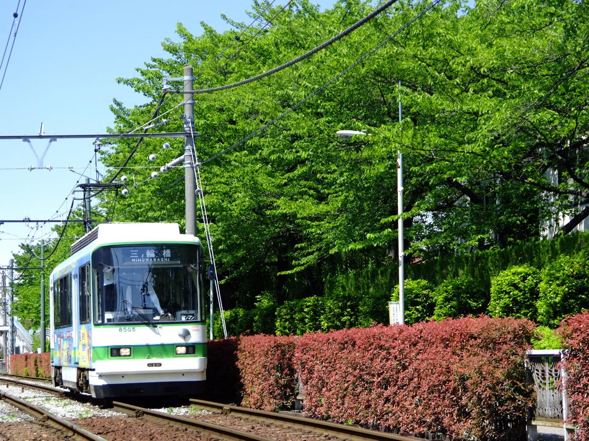 Toei Streetcar (Toden) Arakawa Line_1