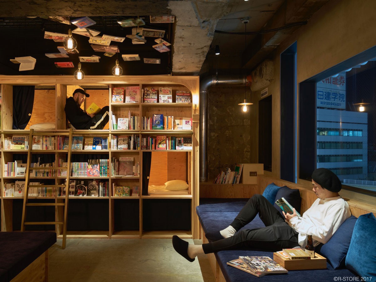 Book and Bed Tokyo_1