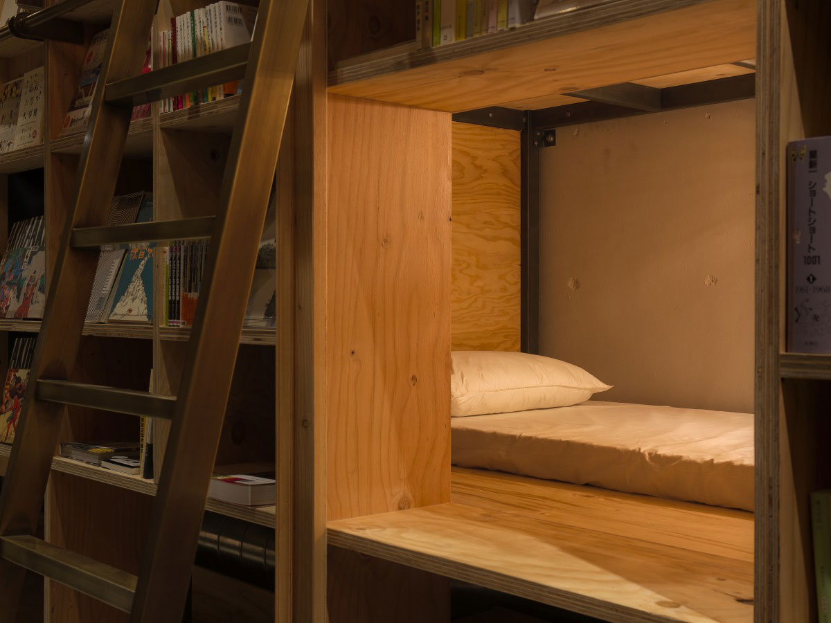 Book and Bed Tokyo_3