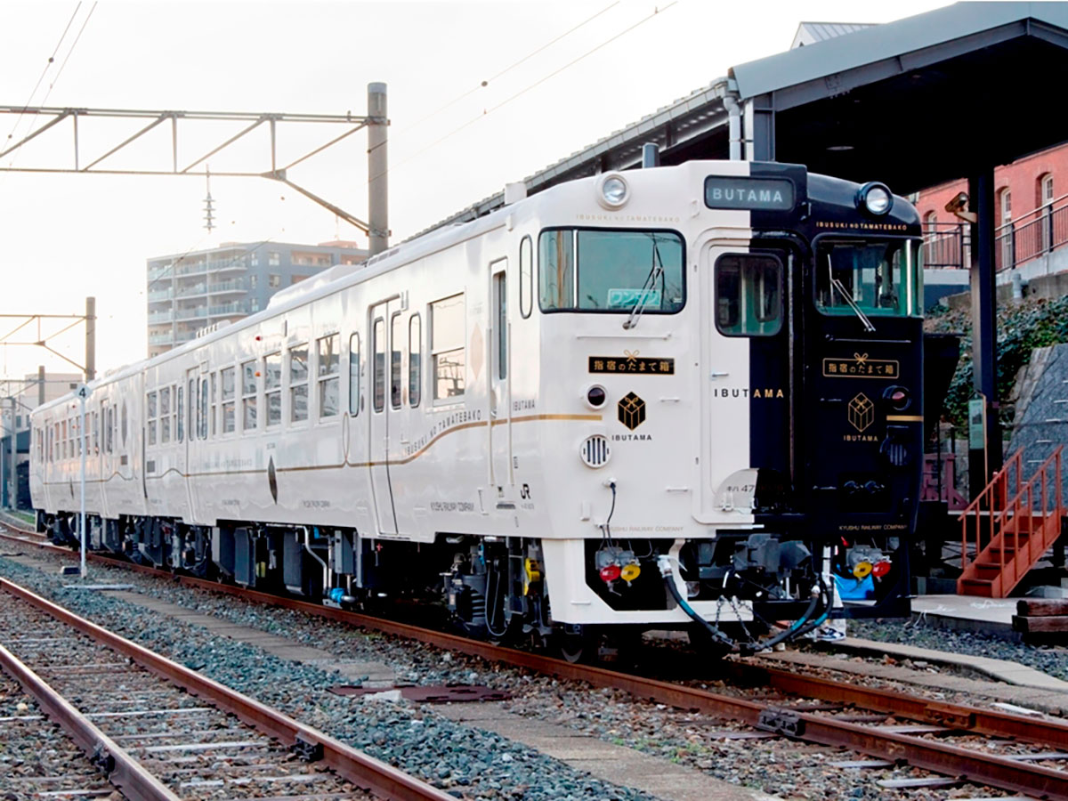 Ibusuki no Tamatebako JR Kyushu limited express Kagoshima-chuo Station – Ibusuki Station_2