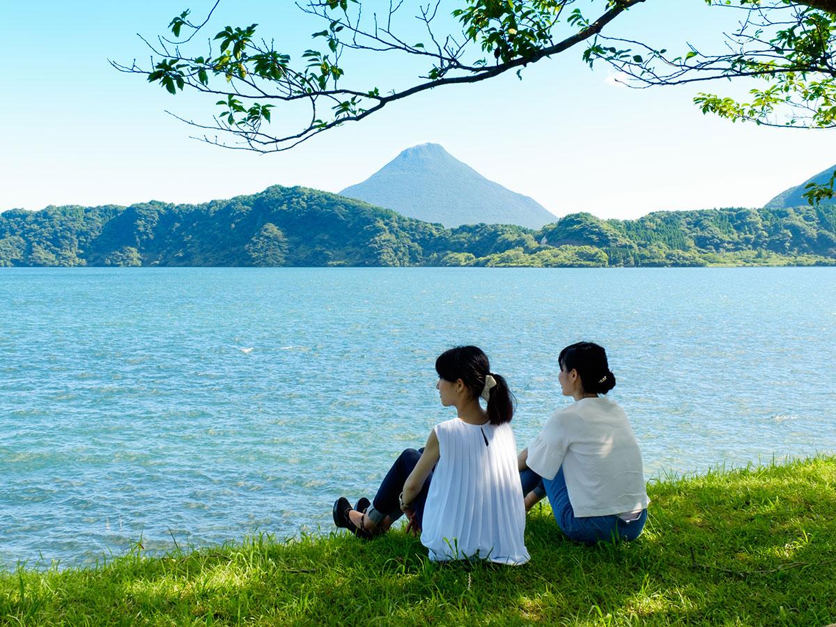 Lake Ikeda_1