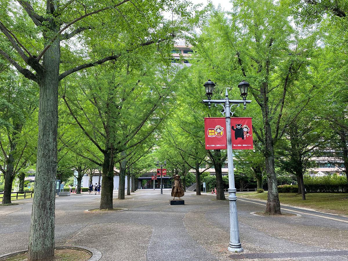 Kumamoto Prefectural Office Promenade_3