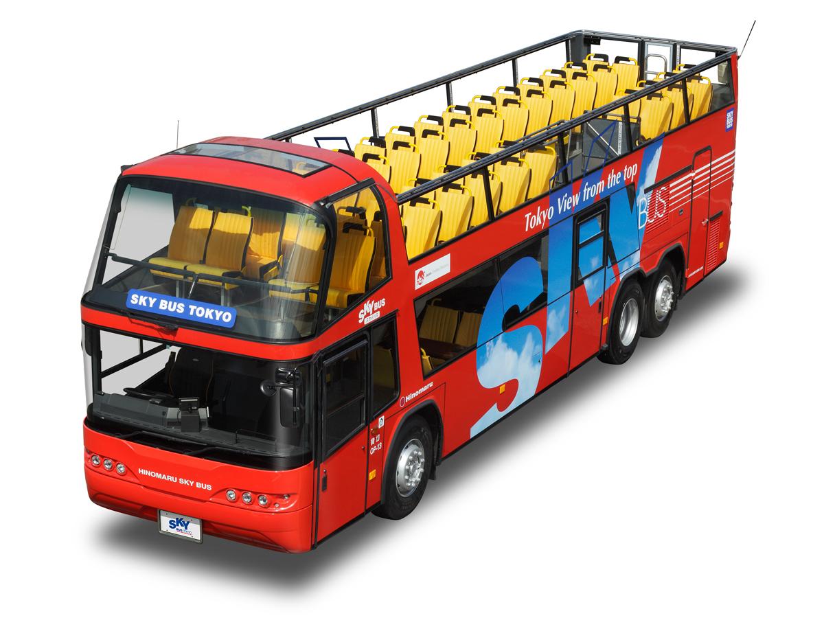 """SKY BUS TOKYO """"Tour Nocturno de Odaiba""""_3"""