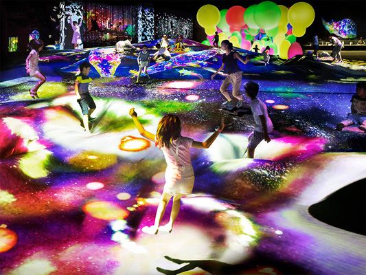 teamLab Borderless Odaiba_3