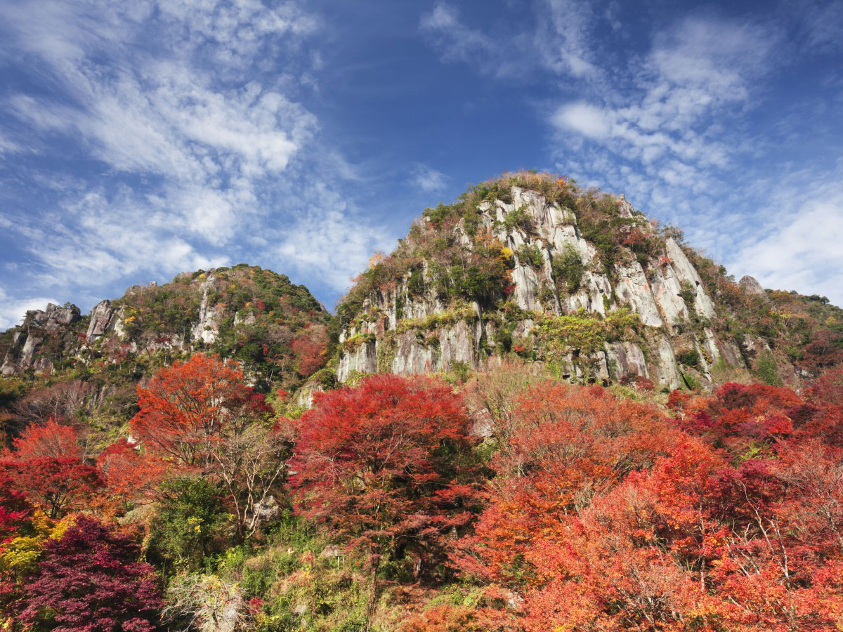 Yaba Gorge, Nakatsu (Red autumnal leaves)_3